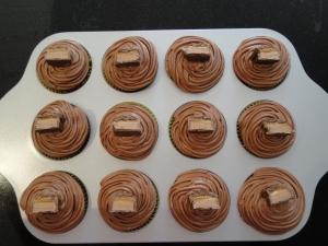 Mars Bar Cupcakes.
