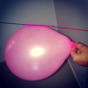 Balloon Rocket Ships.