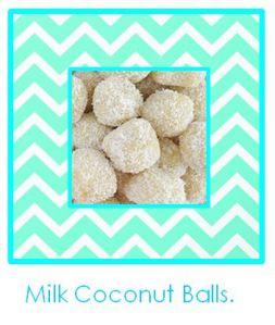 Milk Coconut Balls.