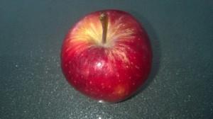 Take a pretty apple.